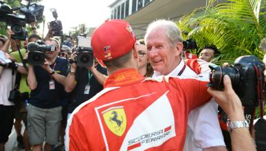 Helmut Marko apostó por Vettel... ¡y ganó 400€!