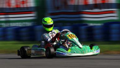 El hijo de Michael Schumacher ya brilla en el karting