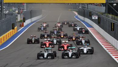 Horarios del GP Rusia F1 2016