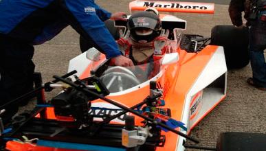 Imágenes de la pelicula Rush sobre Niki Lauda
