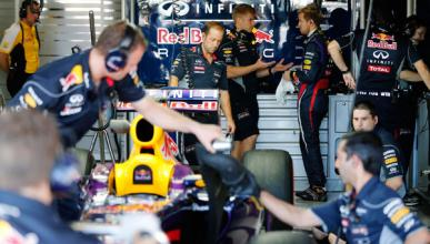 Ingenieros Infiniti Red Bull Racing F1