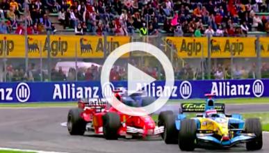 La inolvidable lucha de Alonso y Schumacher en Imola 2005