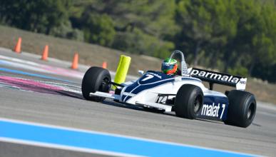 Joaquin Folch - Brabham BT49 - Paul Ricard