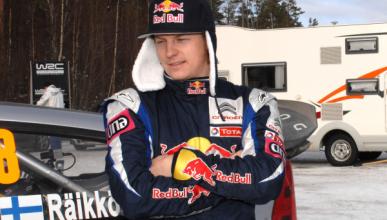 Kimi Räikkönen echa de menos los rallys