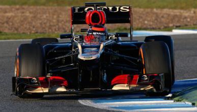Kimi Raikkonen Lotus Jerez 2013
