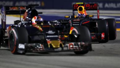Kvyat vs. Verstappen, la gran batalla del GP de Singapur