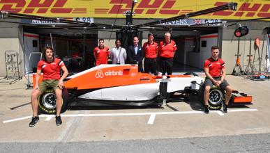 Leimer no pone en peligro el asiento de Merhi, según Manor