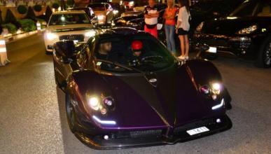 Lewis Hamilton, cazado con su Pagani en Mónaco