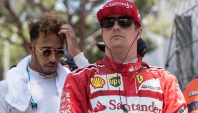 Lewis Hamilton da a Räikkönen donde más duele