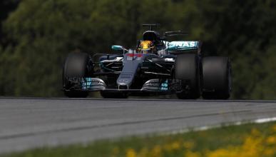Lewis Hamilton, durante los Libres 1 de Austria