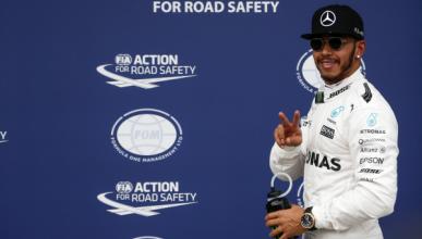 """Lewis Hamilton: """"es un placer pilotar este coche"""""""