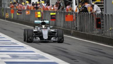 Lewis Hamilton, obligado a remontar en China