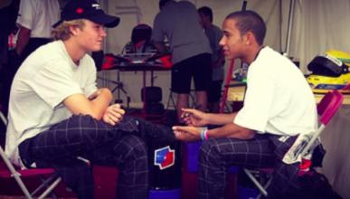 Lewis Hamilton se rinde ante el campeón