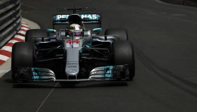 Libres 1 GP Mónaco 2017: Hamilton, en cabeza