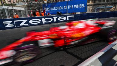 Libres 2 GP Mónaco 2017: Vettel lidera, Sainz quinto