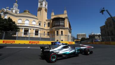 Libres 3 GP Azerbaiyán 2017: Mercedes vuelve al frente