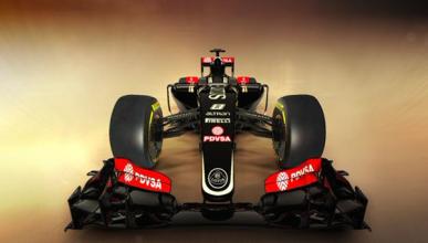 El Lotus E23 llega a Jerez con esperanzas de rodar mañana