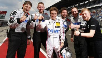 Lucas Auer, piloto de Mercedes en DTM