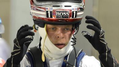Magnussen, agotado, fue al centro médico en Singapur