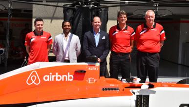 Manor F1 anuncia su primer patrocinador