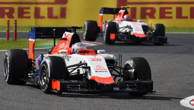 Manor F1, con motores Mercedes y piezas de Williams en 2016