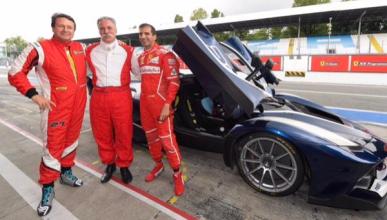 Marc Gené descubre Monza al nuevo jefe de la Fórmula 1