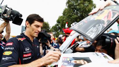 Mark Webber Red Bull Australia