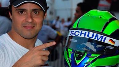 Massa dice que vio reaccionar a Schumacher en su visita