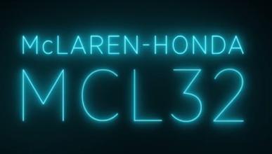 McLaren-Honda MCL32, así se llamará el nuevo F1 de Alonso
