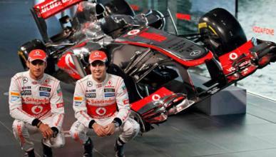 McLaren MP4-28 Jenson Button Sergio Perez