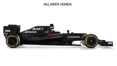 McLaren MP4-31, el decimoquinto f1 de  Fernando Alonso