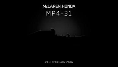 El McLaren MP4-31 se presenta mañana y lo estrenará Button