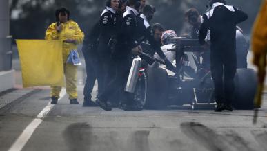 McLaren se topa con su primer problema en pretemporada