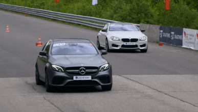 Mercedes-AMG E63 S vs BMW M6 vs Audi RS7 Sportback
