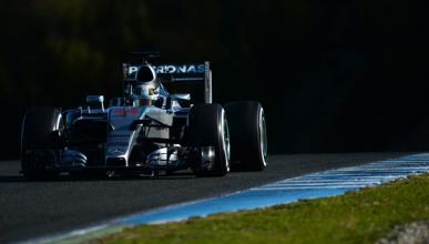 Mercedes confirma que llevó el motor de 2015 en Jerez