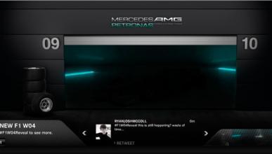 Mercedes F1 Twitter