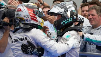 Mercedes puede hacer historia con Hamilton y Rosberg