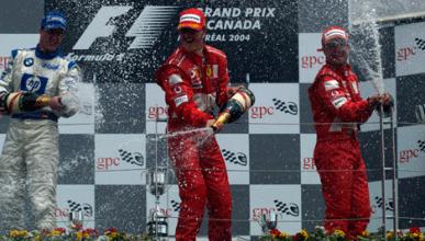 Michael Schumacher - Ferrari - GP Canadá - 2004