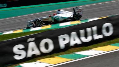 Michael Schumacher - Mercedes - GP Brasil