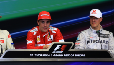 Michael Schumacher, rival más duro de Fernando Alonso