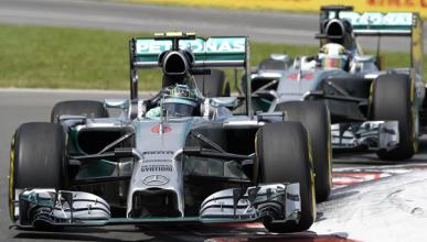 El motor Mercedes de F1 podría ser 50CV más potente en 2015