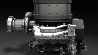 Motor Mercedes V6 Turbo F1 2014
