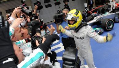 Nico Rosberg se estrenó en el GP de China F1 2012