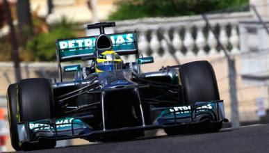 NIco Rosberg Mercedes Monaco 2013