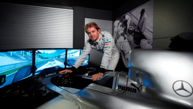 Nico Rosberg - Mercedes - Simulador