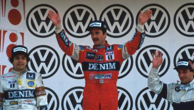 Nigel Mansell tendrá una curva en el circuito de México