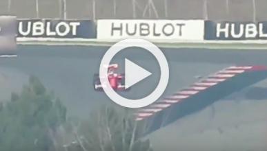 El nuevo Ferrari SF16-H, 'cazado' en un test en Montmeló