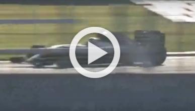 El nuevo Mercedes W07 se estrena en Silverstone