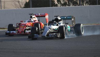 Los números de los primeros test F1 de 2016 en Montmeló