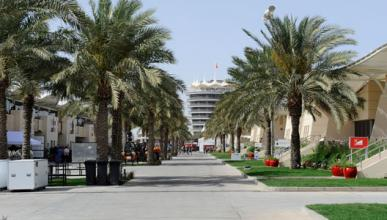 Paddock - Circuito Sakhir - Bahréin